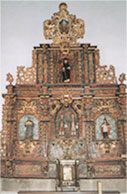 Retablo Mayor. Cerezal de Aliste